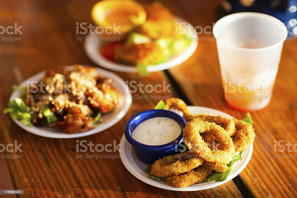 Lunch snacks royalty-free stock photo