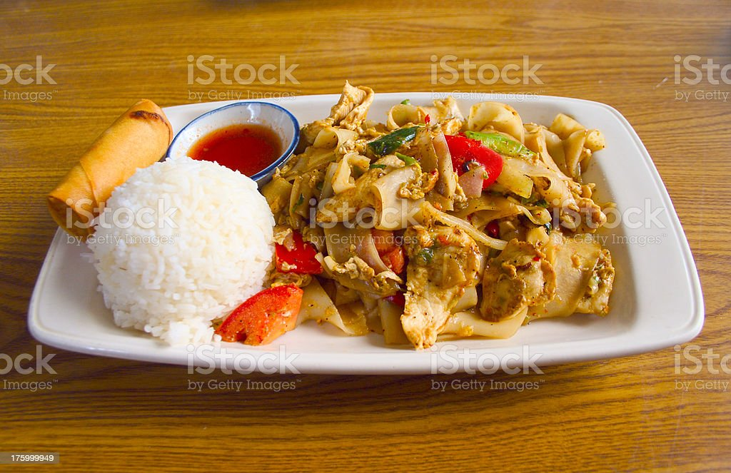 Lunch special royalty-free stock photo