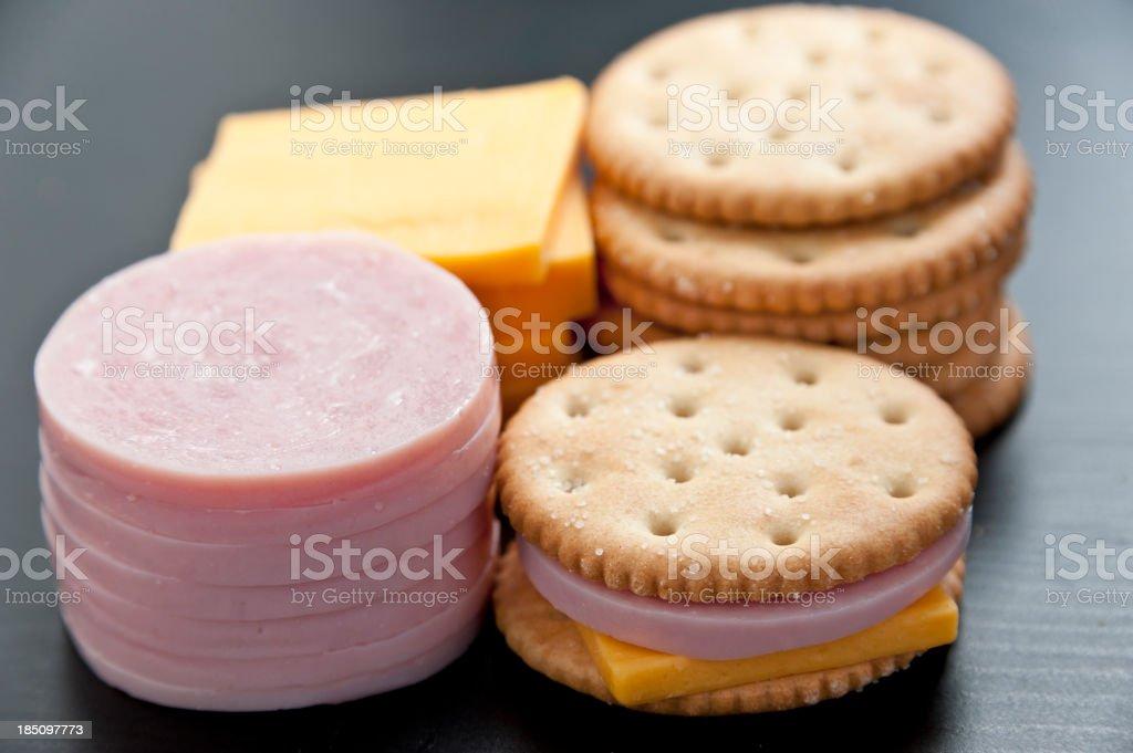 Lunchable stock photo