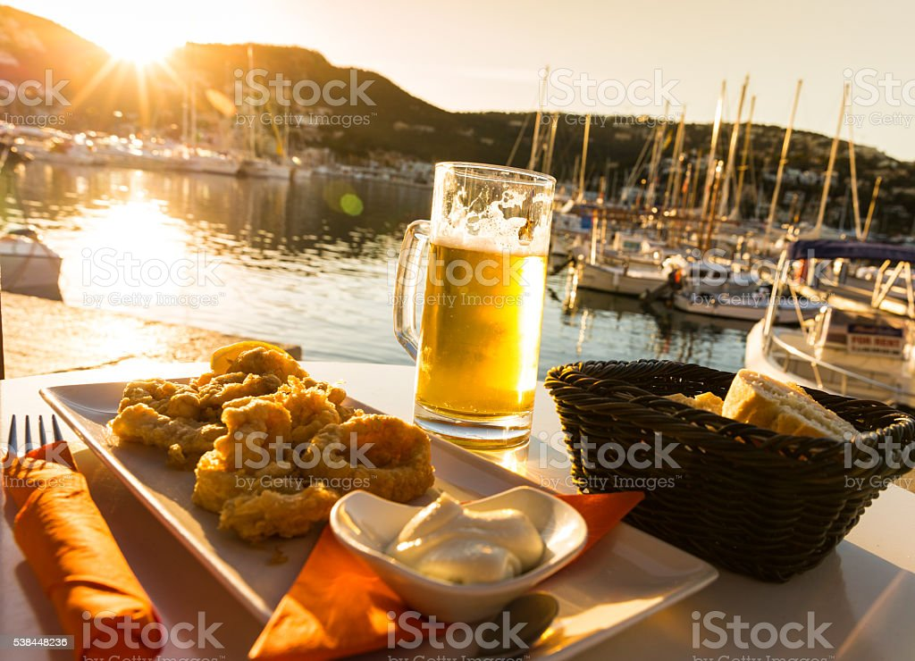 Lunchtime Tapas stock photo