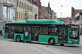 istock Lund, Sweden - Gas-fueled buses 1032850852