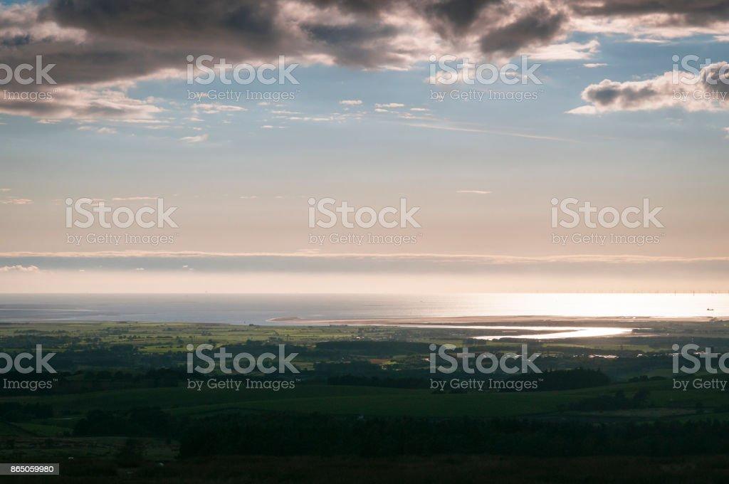 Lune Estuary stock photo