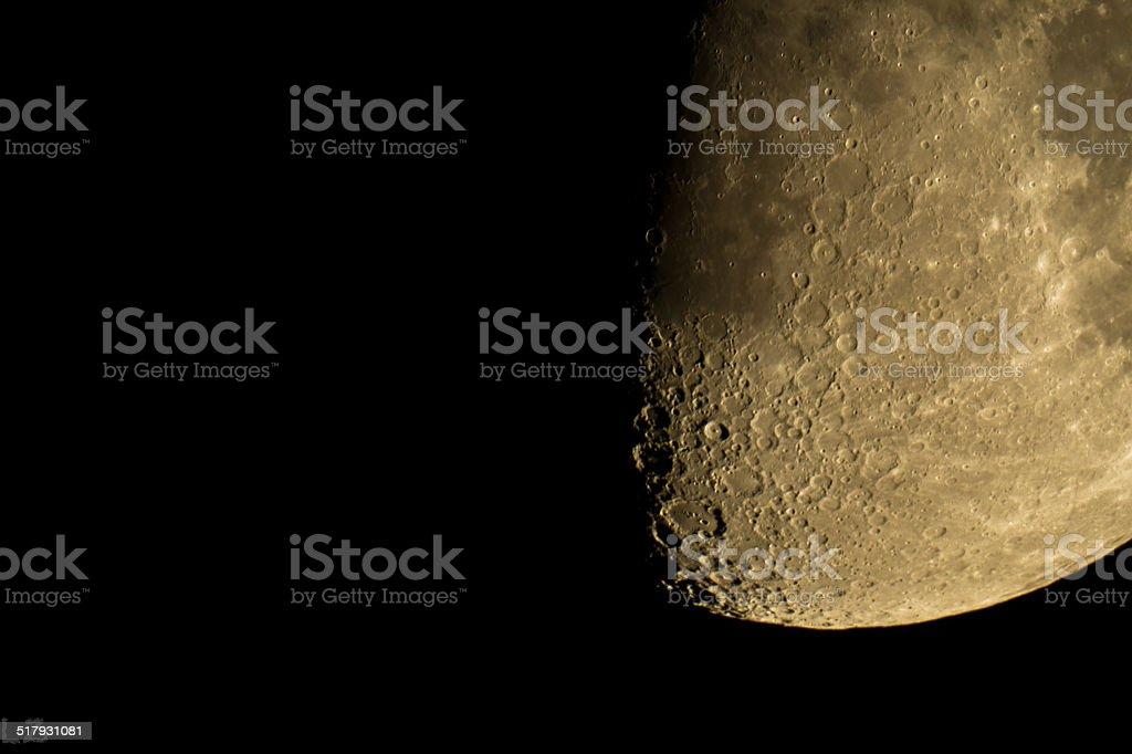 Lune stock photo