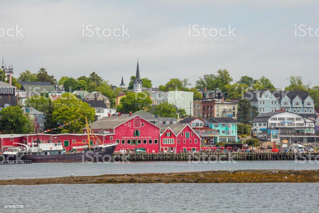 Lunenburg Harbour stock photo