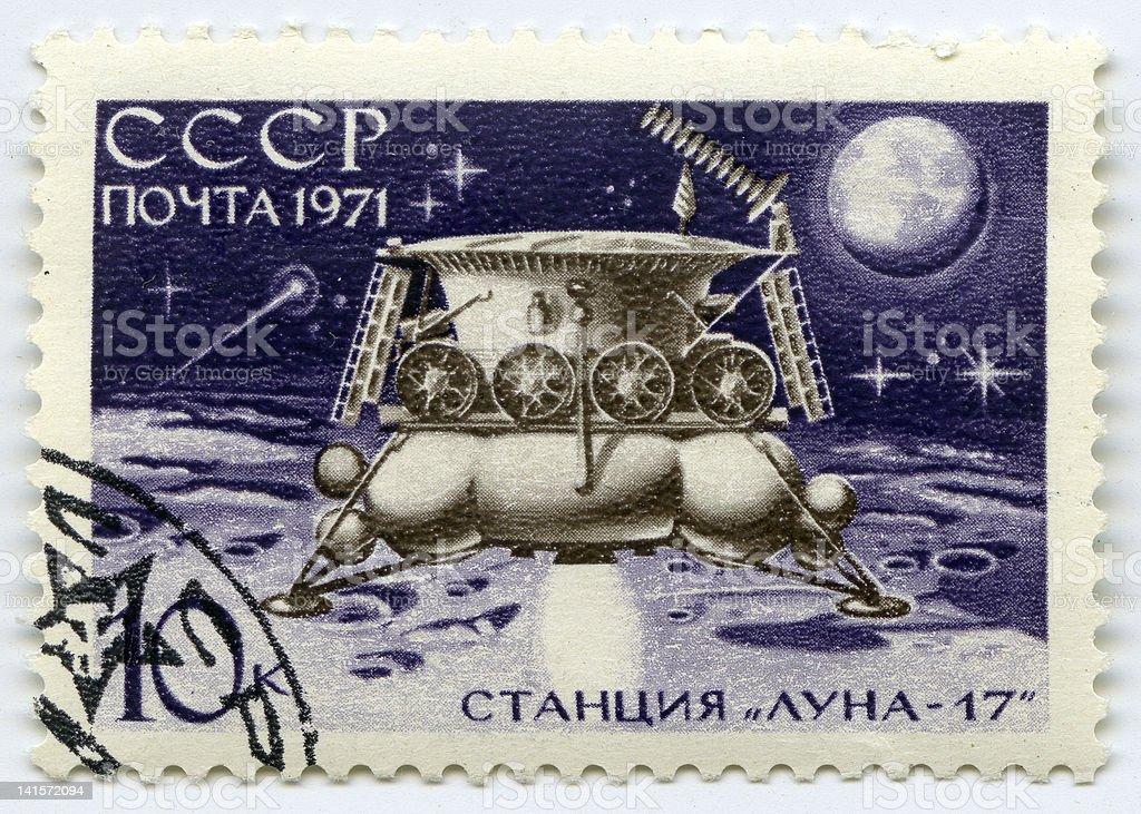 Lunokhod stock photo