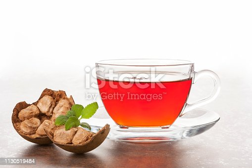 Luo Han Guo aka Monk fruit natural herbal remedy on. Powerful healthy sweetener.