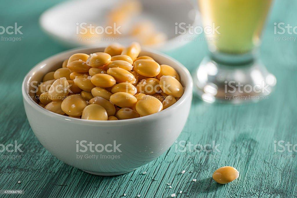 Lupini Beans - foto de stock