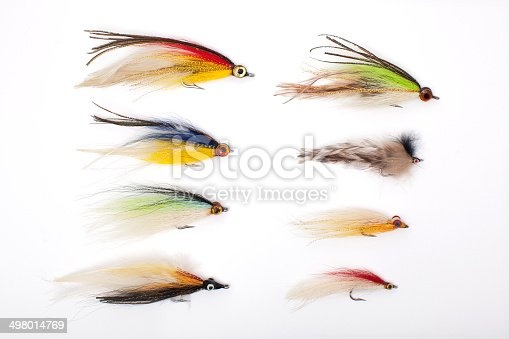 istock lures for fishing, fly, bait 498014769