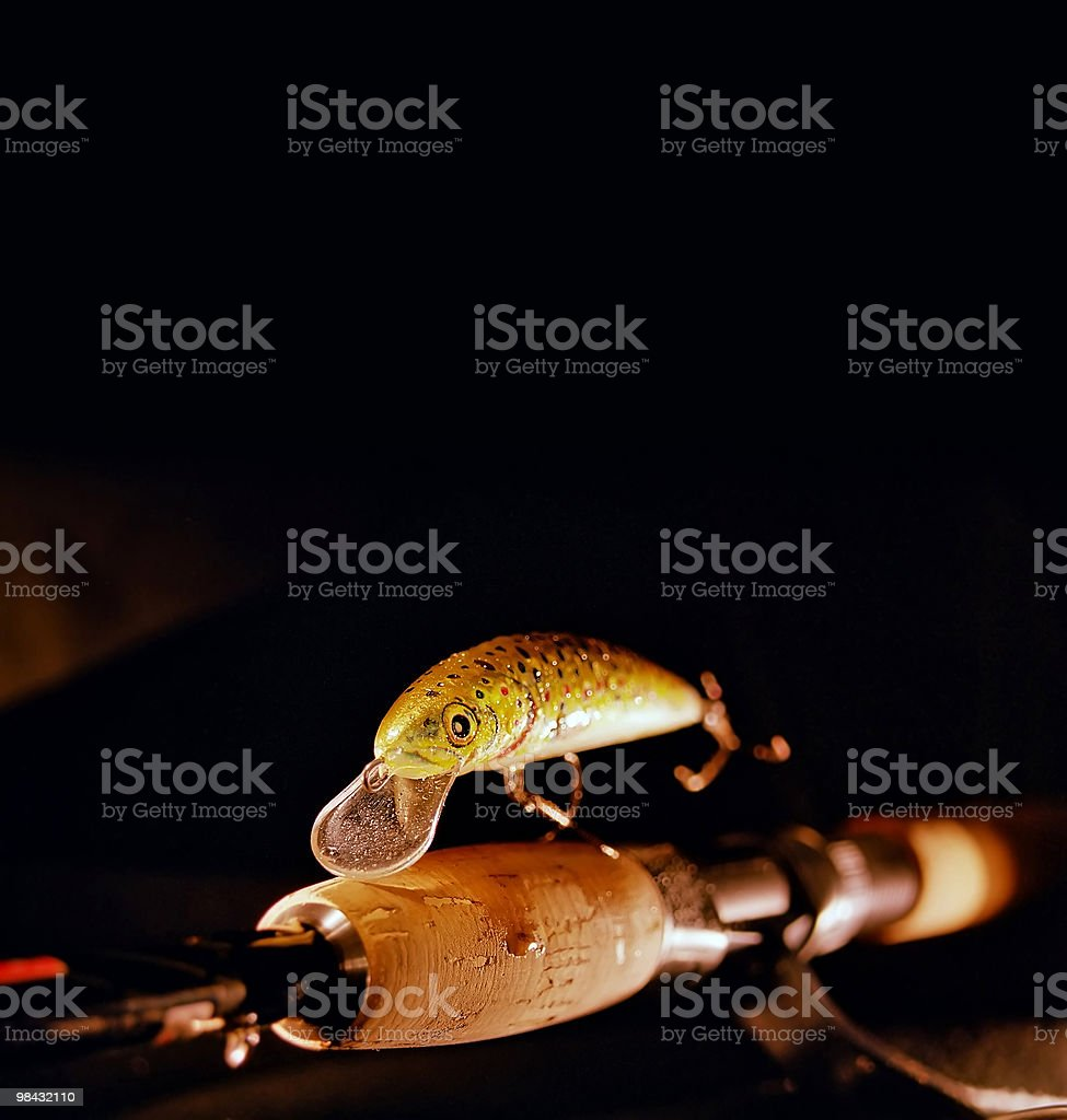 Lures royalty-free stock photo