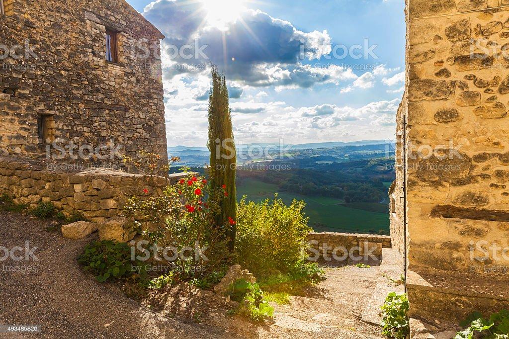 Lurs, Provence, France stock photo