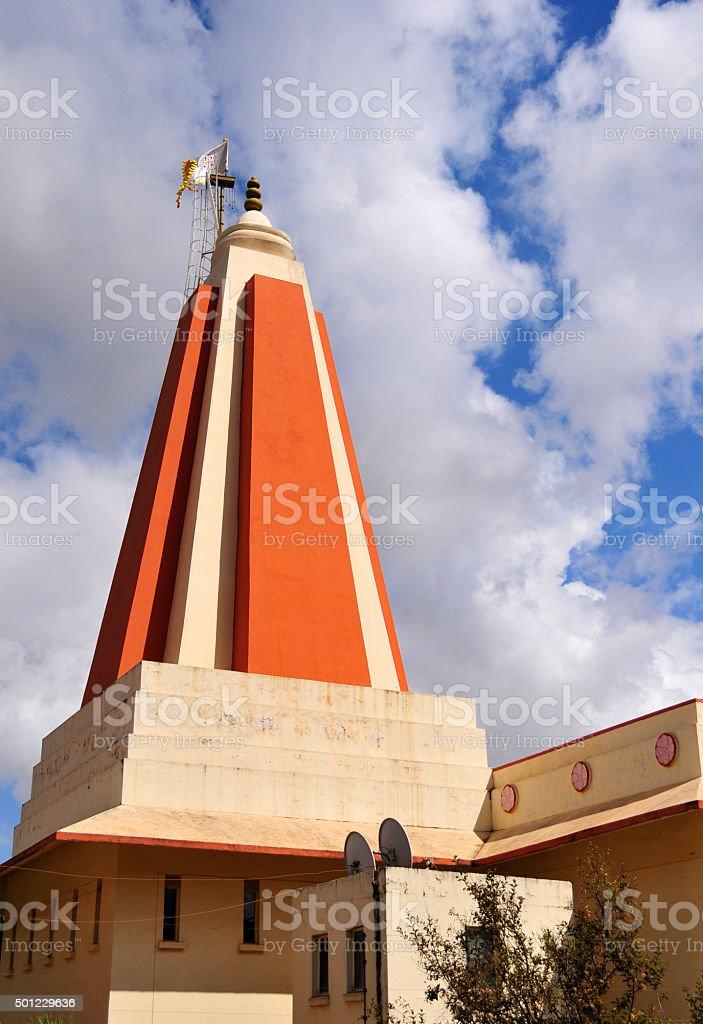 Lusaka Hindu Temple, Zambia stock photo