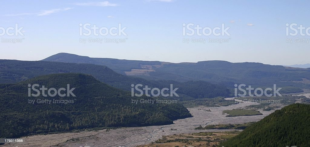 lush hills royalty-free stock photo