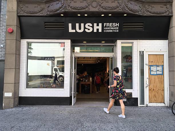 Lush in Manhattan, New York City stock photo