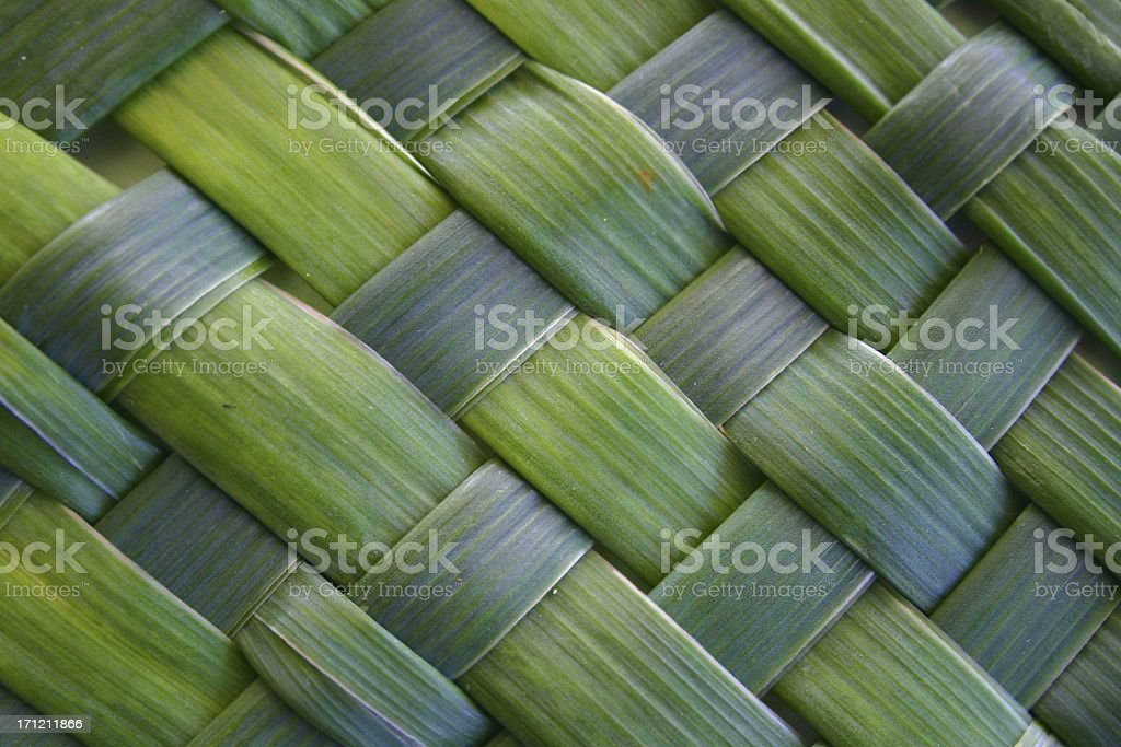 lush woven leaves royalty-free stock photo