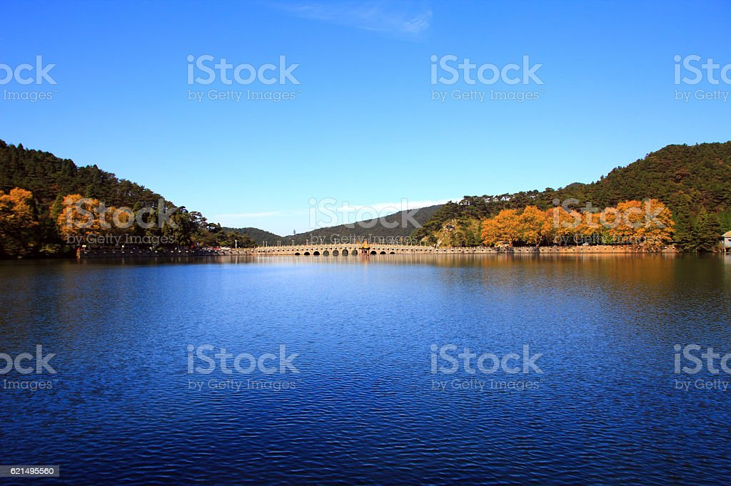 Lushan in autumn photo libre de droits