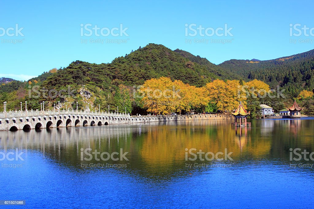 Lushan in autumn foto stock royalty-free