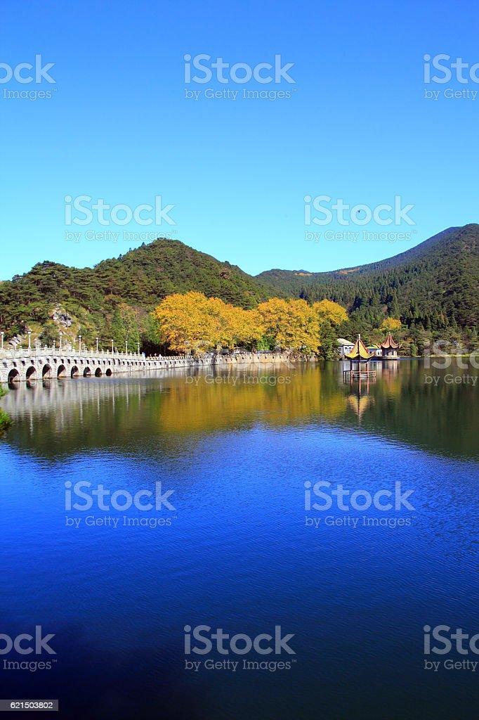 Lushan in autumn foto stock royalty-free