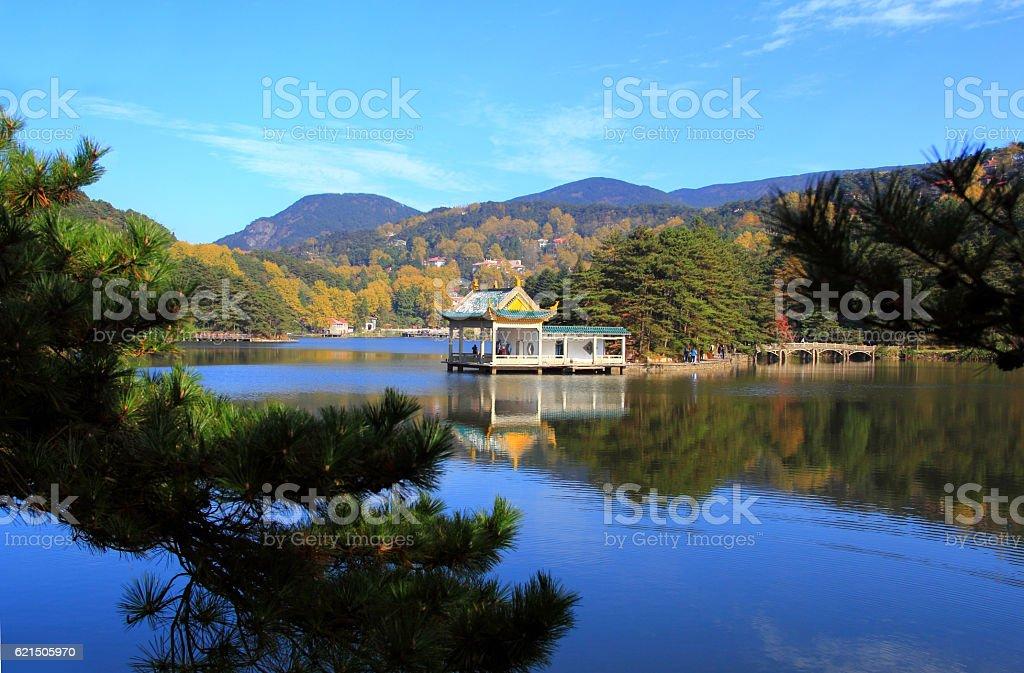 Lushan in autumn Lizenzfreies stock-foto