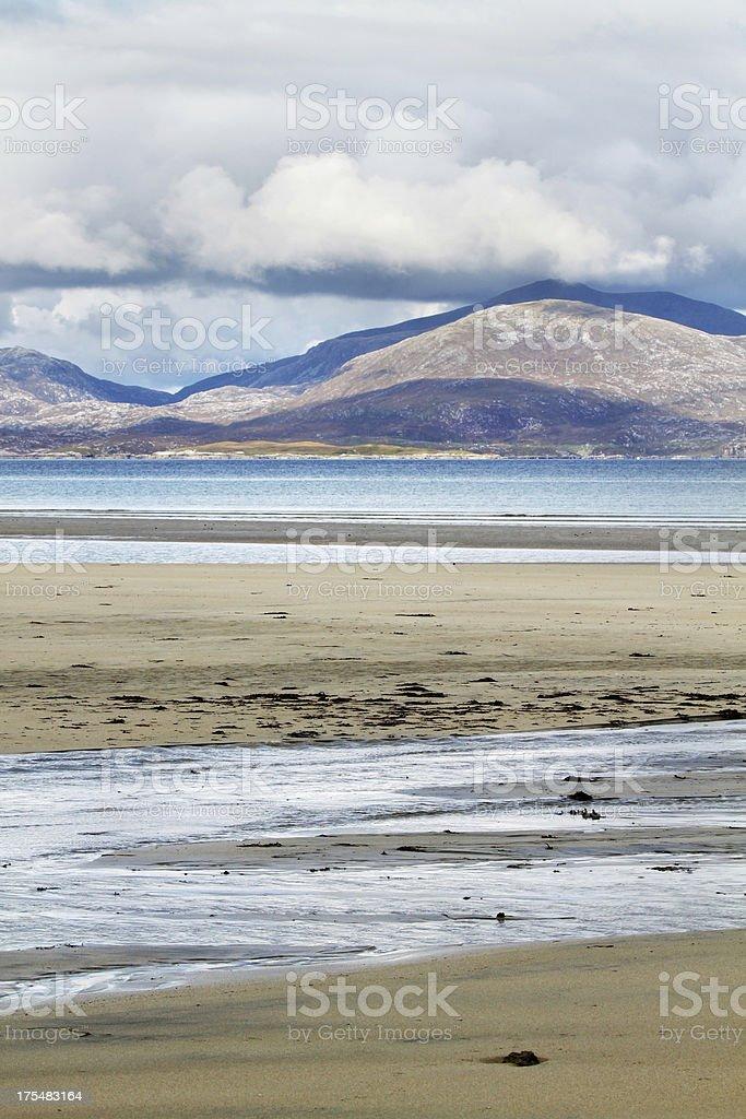 Luskentyre beach, Harris stock photo