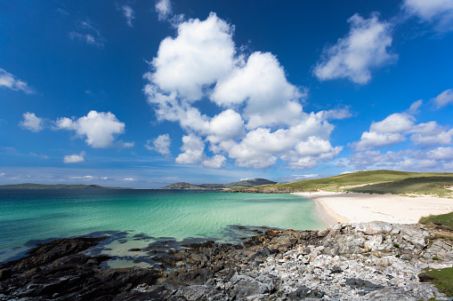 Luskentyre Beach Stock Photo - Download Image Now