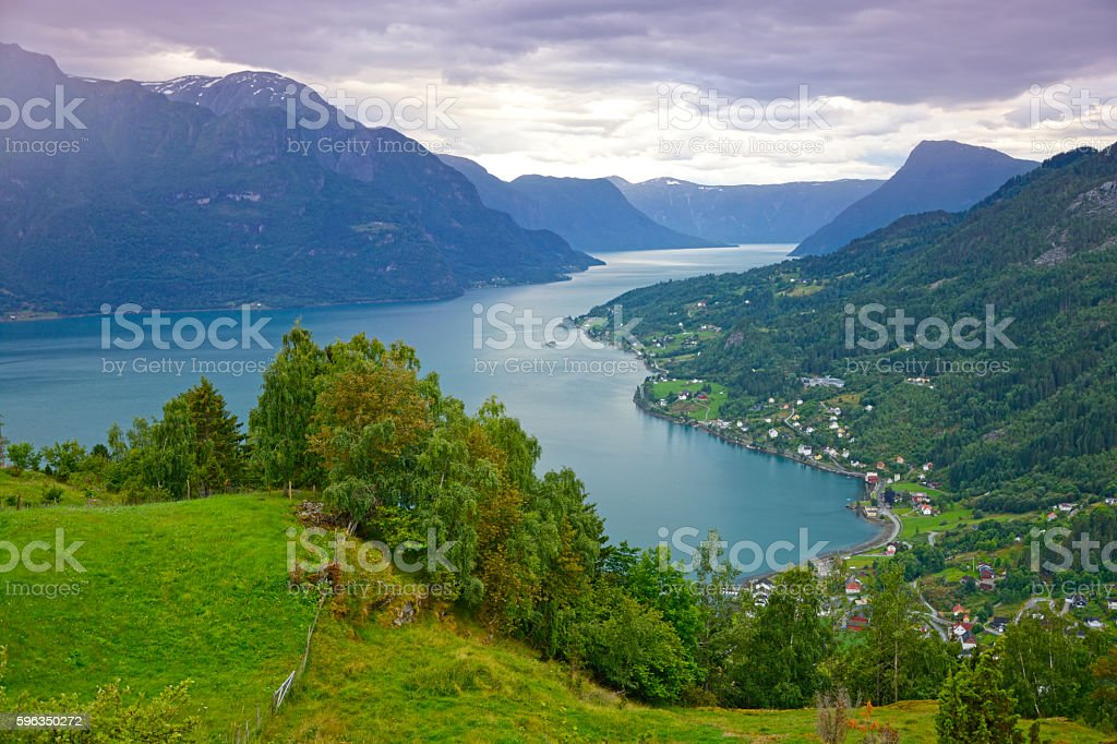 Lusterfjord royalty-free stock photo