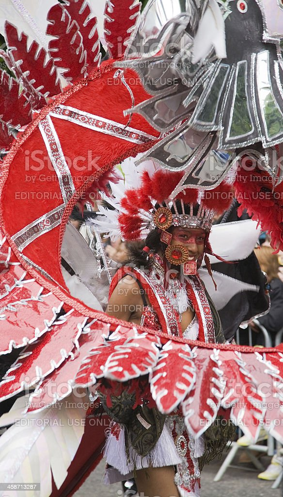 Luton Carnival royalty-free stock photo