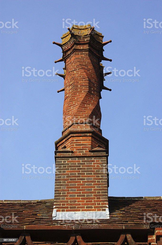 Lutyens Chimney stock photo