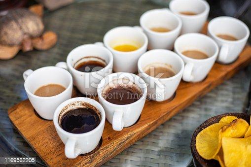 Luwak Coffee & Tea testing in Bali