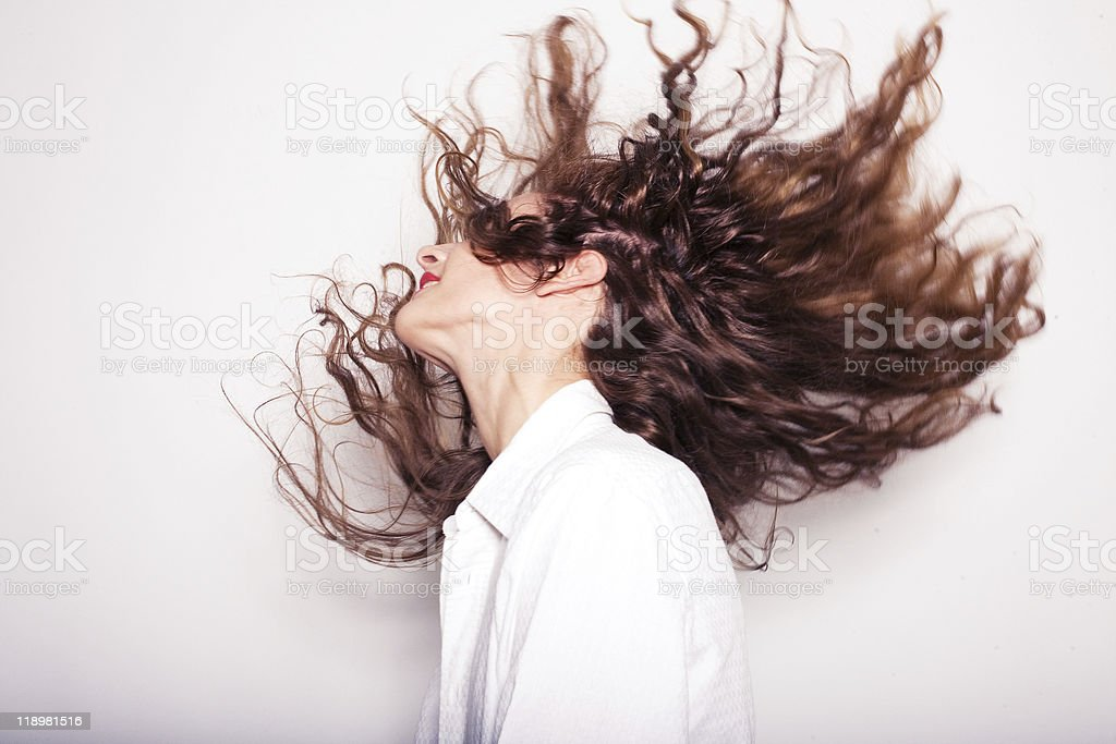luxary hairs stock photo