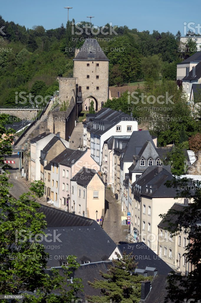 Luxembourg City - Grand Duchy of Luxembourg stock photo
