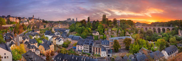 Luxembourg City, Luxembourg. stock photo
