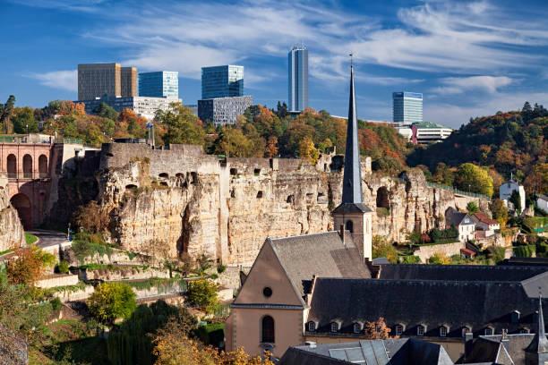 Blick auf die Stadt Luxemburg. – Foto