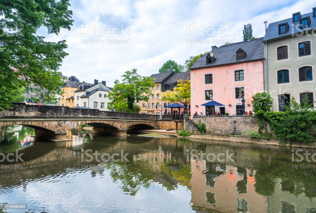 Luxembourg old town - Royalty-free Architecture Stock Photo