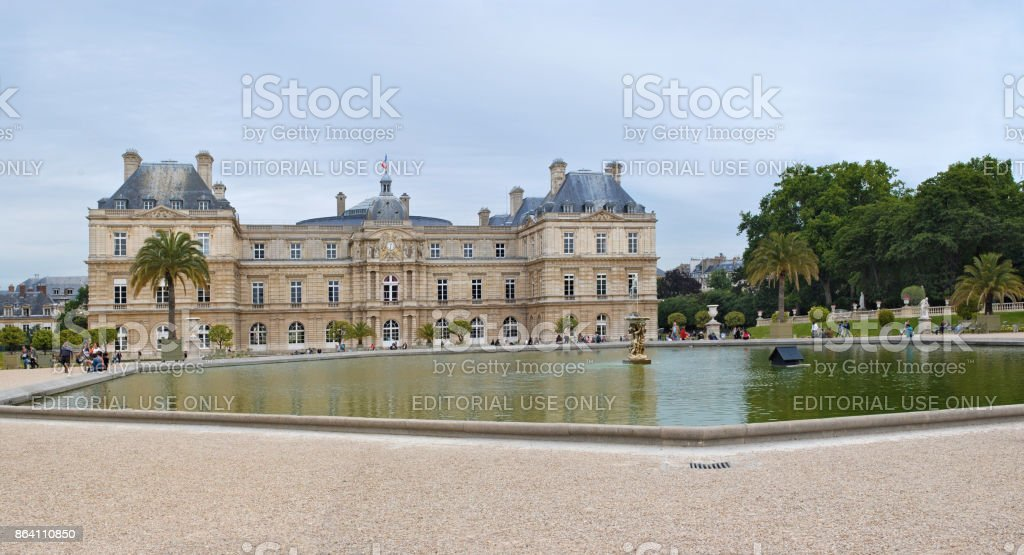 Luxembourg Palace in Paris. royalty-free stock photo