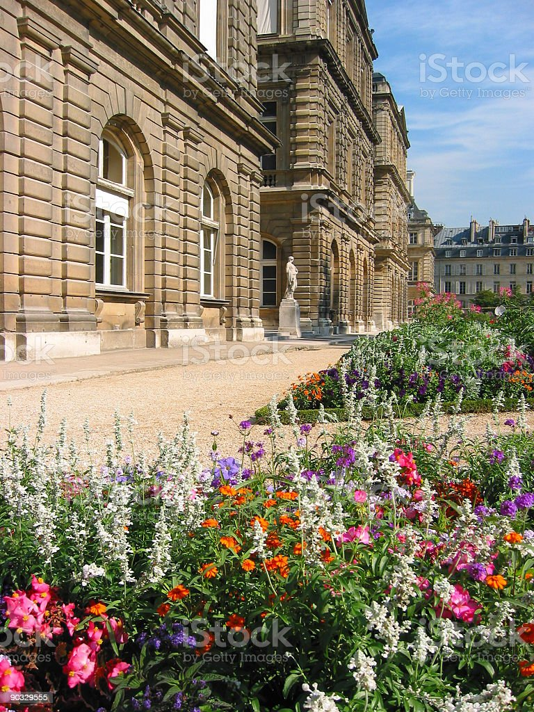 Palais de Luxembourg royalty-free stock photo