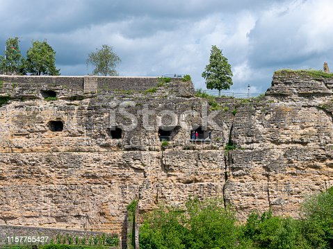 17e eeuwse kazematten van Bock in de stad Luxemburg
