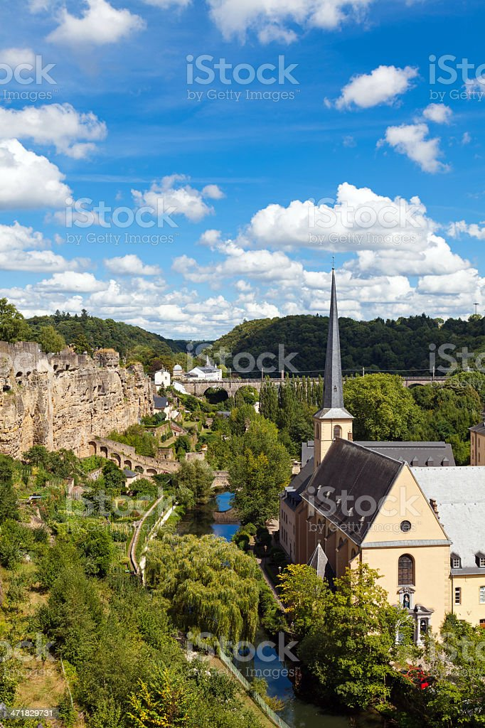 Luxembourg royalty-free stock photo