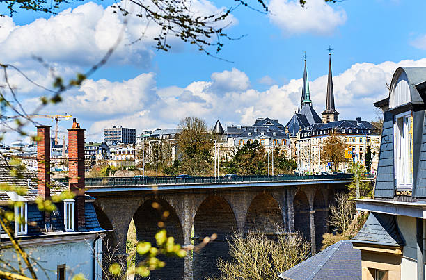 Luxembourg skyline – Foto