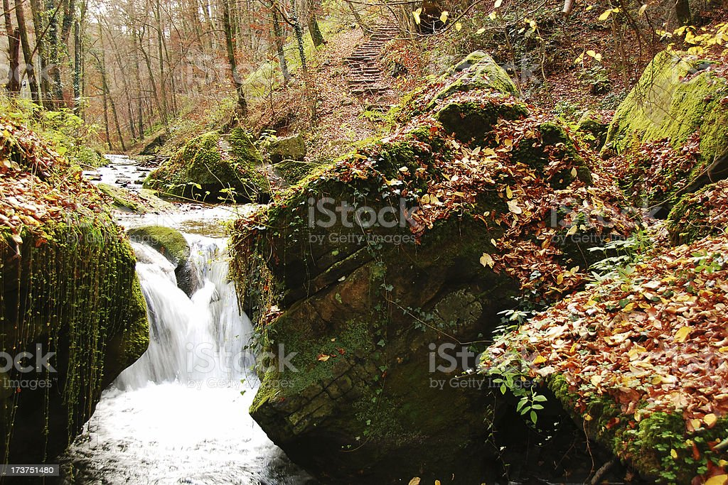 Luxembourg Stream royalty-free stock photo