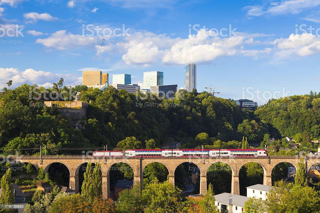 Luxembourg-Kirchberg royalty-free stock photo