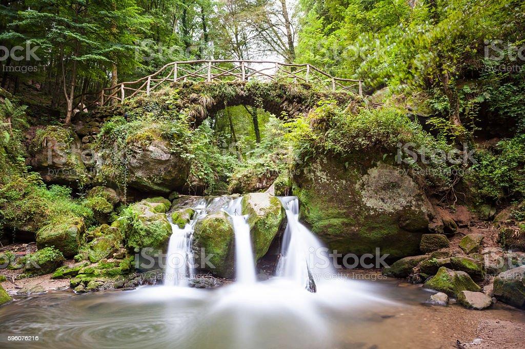 Luxembourg's Little Switzerland royalty-free stock photo