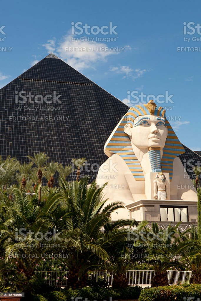 Luxor Casino and Hotel in Las Vegas , Nevada stock photo