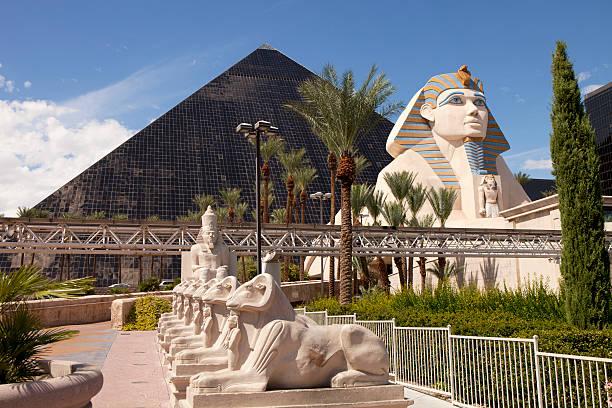 Luxor Casino and Hotel in Las Vegas , Nevada stock photo
