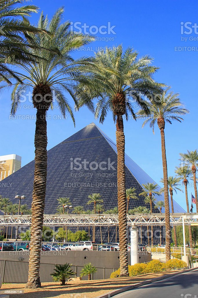 Luxor hotel and casino in Las Vegas, Nevada royalty-free stock photo