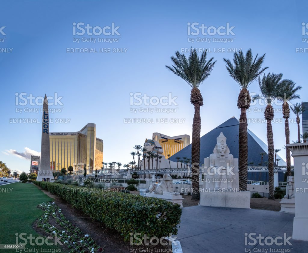 Luxor Hotel Casino - Las Vegas, Nevada, USA stock photo