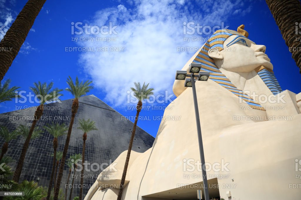 Luxor hotel Las Vegas stock photo