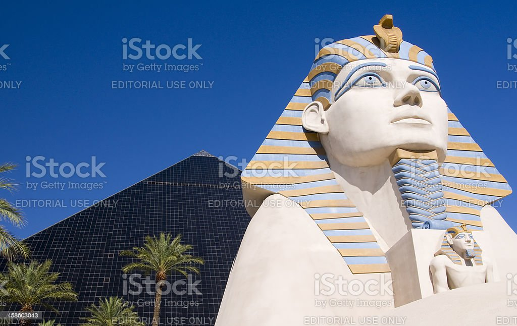 Luxor Hotel stock photo