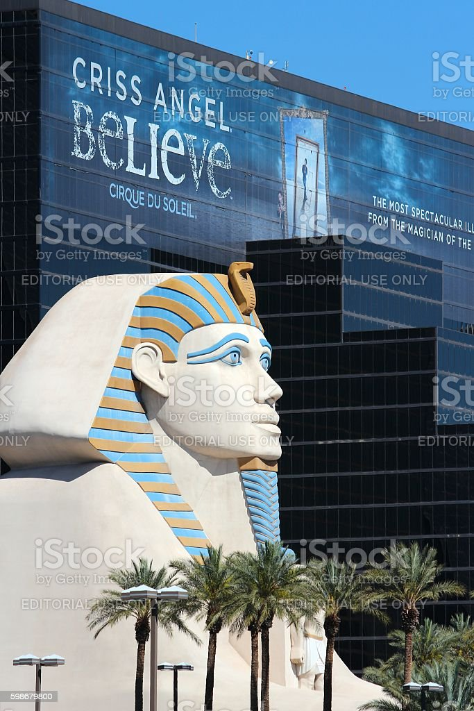 Luxor Las Vegas stock photo