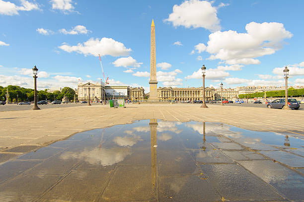 Luxor obelisk Luxor obelisk in Place de la Concorde in Paris cherbourg stock pictures, royalty-free photos & images