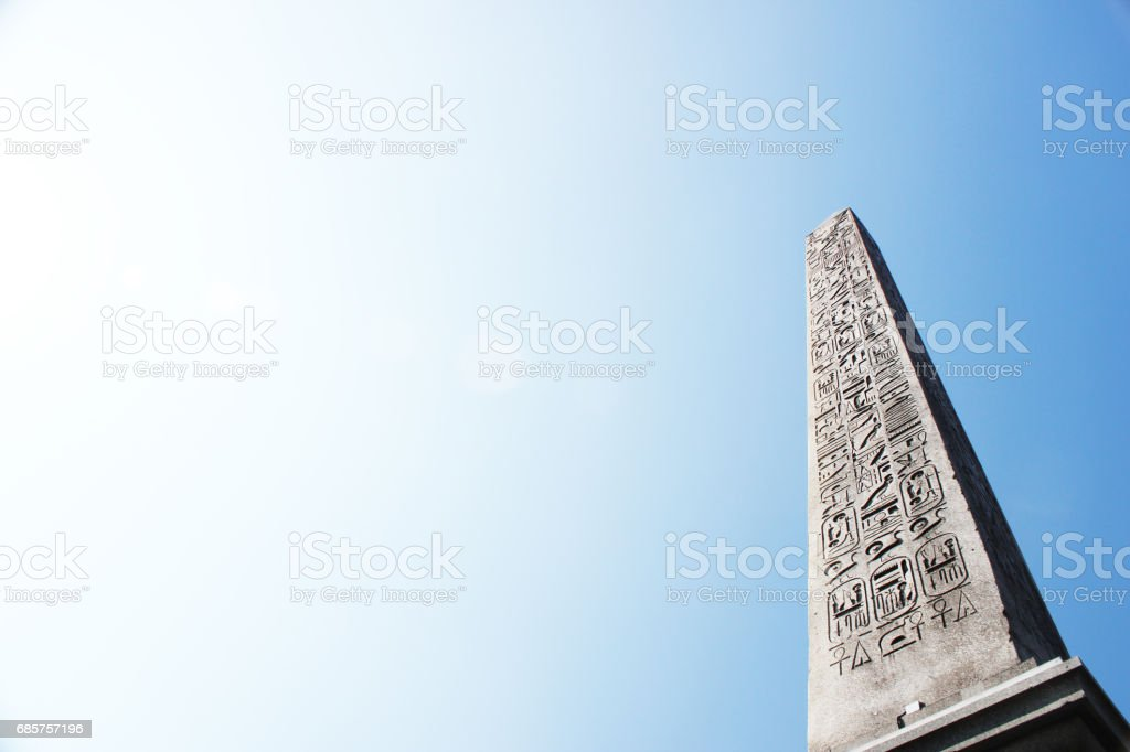 Obelisk van Luxor (3) royalty free stockfoto